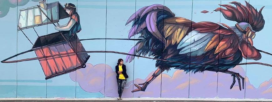 Nuova vita ai borghi italiani con la Street Art di Alessandra Carloni
