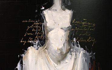 Mostra Bellandi artista galleria Galp Como