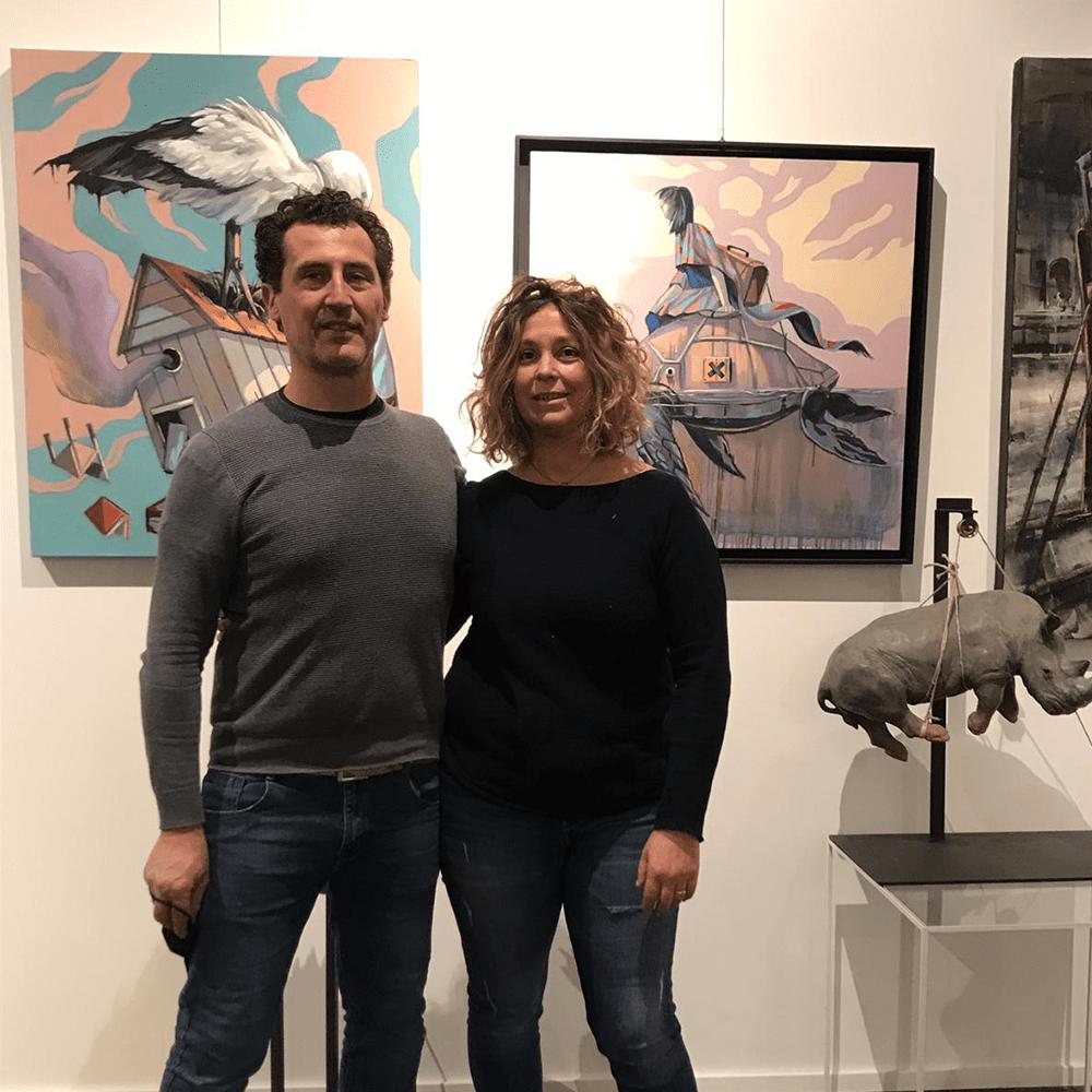 Mauro e paola galleria d'arte Como