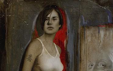 Mostra Biondi artista galleria Galp Como