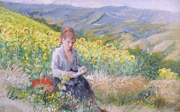 Mostra Parmigiani artista galleria Galp Como